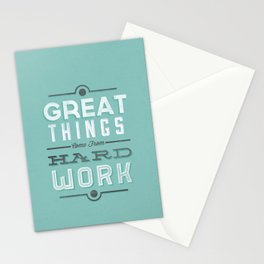 Great Things... Stationery Cards
