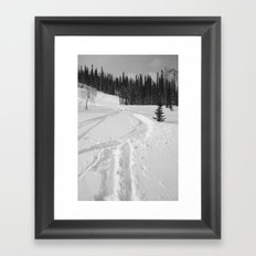 Winter 13 Framed Art Print