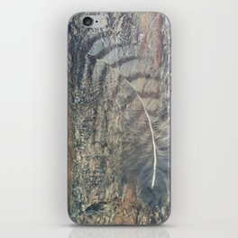 Bark Feather iPhone Skin