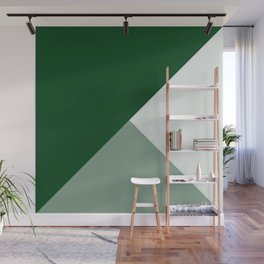 Trinity Color Block Forest Green 08441C Wall Mural