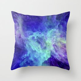 Space Explosion 07 Throw Pillow