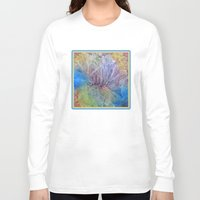 kaleidoscope Long Sleeve T-shirts featuring Kaleidoscope  by Watercolor with Jean