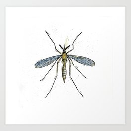 Mosquito Control Art Print