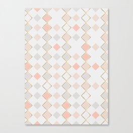 Pattern Rose Canvas Print