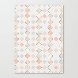 Pattern Rose Canvas Print
