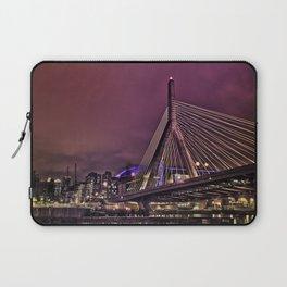 Zakim bridge, Boston MA  Laptop Sleeve