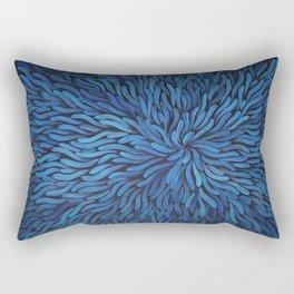 Blue Spag Dream Rectangular Pillow