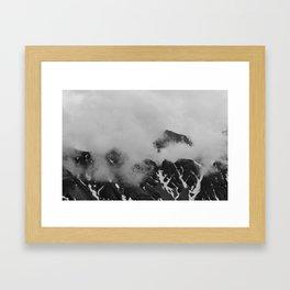 Farther Slopes: I Framed Art Print