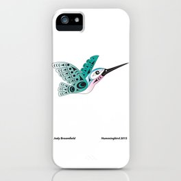 Hummingbird by: Jody Broomfield iPhone Case