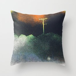The Dust that Never Settles Throw Pillow