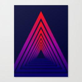 Triangle Vison Canvas Print