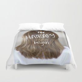 Hairstylist Duvet Cover