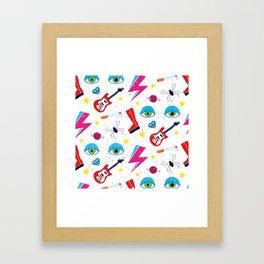 Ziggy Played Guitar Framed Art Print