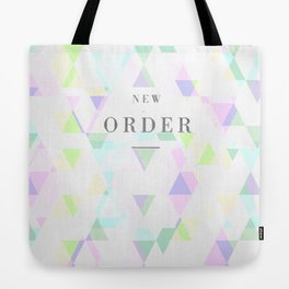 New Order Tote Bag