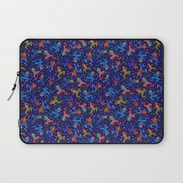 Tossed Posion Dart Frogs Laptop Sleeve