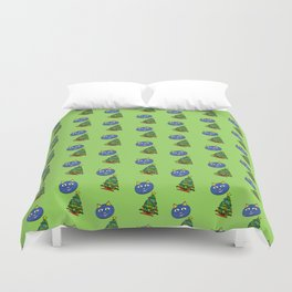 Cat Christmas Duvet Cover