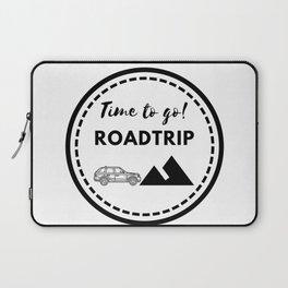 Tiempo de viajar | Time to go Roadtrip Laptop Sleeve