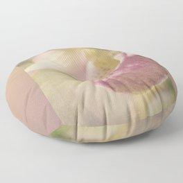Lovely Lady Slipper Floor Pillow