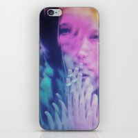 ahs iPhone & iPod Skins featuring AHS Violet by Connor Caldwell