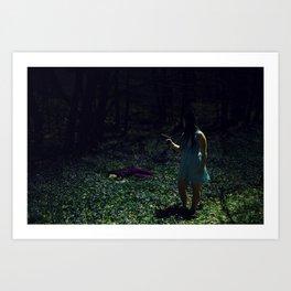 Film Couleur Art Print