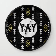 Yay Wall Clock