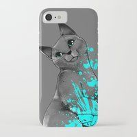 russian iPhone & iPod Cases featuring Russian Blue by Anwar Rafiee