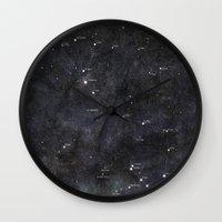 scorpio Wall Clocks featuring Scorpio by Lukasz Baka