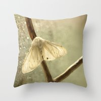 moth Throw Pillows featuring moth by Nature In Art...