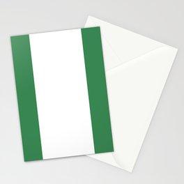 Nigeria flag emblem Stationery Cards