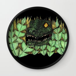 Don't go into the long grass! Wall Clock