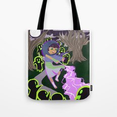 Ghost Battle Tote Bag