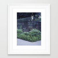 cage Framed Art Prints featuring Cage by Sven Jaeckel