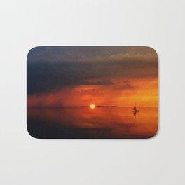 Amazing sunset adventure Bath Mat