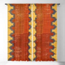 Karapinar Konya Central Anatolian Kilim Print Blackout Curtain