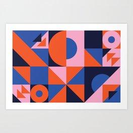 Sunset Quilt Art Print