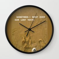 sand Wall Clocks featuring sand by gasponce