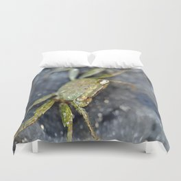 FIDLER CRAB-HERE'S LOOKING AT YOU KID Duvet Cover