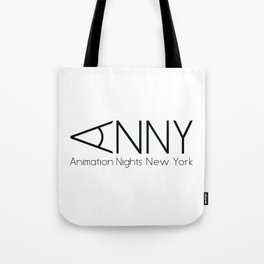 Animation Nights New York Logo Tote Bag