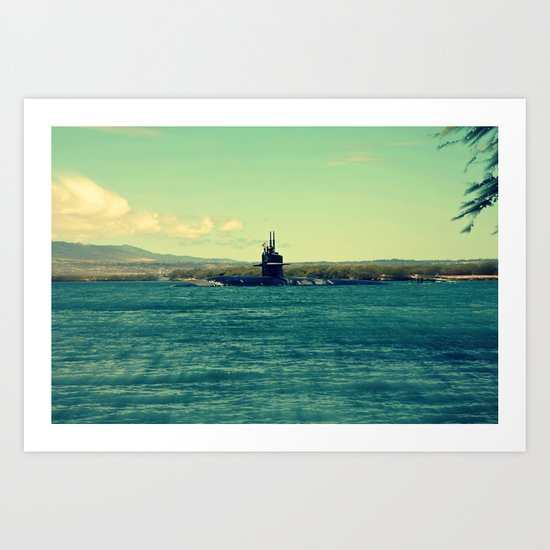 """ The Submarine"" Art Print"