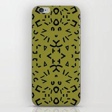 Alphabet iPhone & iPod Skin