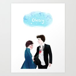 "Homage to ""The Fault in Our Stars"" Art Print"