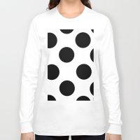 polka dot Long Sleeve T-shirts featuring Polka Dot by JiaMiin Berglund