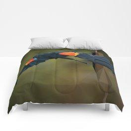 Polygon Redwing Blackbird Comforters