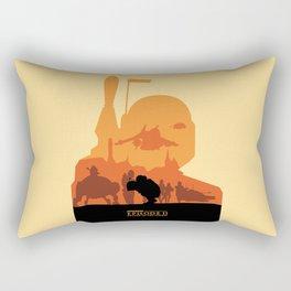 Attack of The Clones Rectangular Pillow