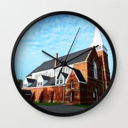 St. Paul's Church Sturgeon PEI Wall Clock