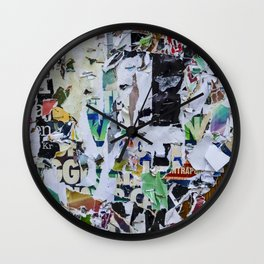 Little pieces Wall Clock