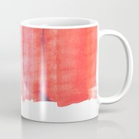 rothko Mugs featuring Summer heat by Picomodi