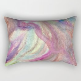 Fairy Visit Rectangular Pillow