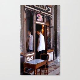 to serve  Canvas Print