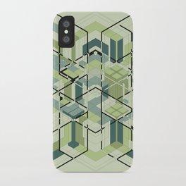 Hexagons #01 iPhone Case
